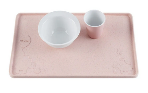 Hevea Placemat Upcycled - Peach