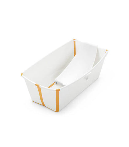Stokke Flexi Bath & Newborn Support - White Yellow