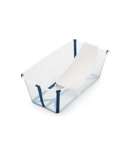 Stokke Flexi Bath & Newborn Support - Transparent Blue