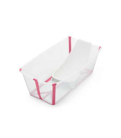 Stokke Flexi Bath & Newborn Support - Translucent Pink