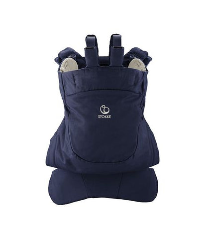 Stokke MyCarrier Front & Back Infant Carrier - Deep Blue