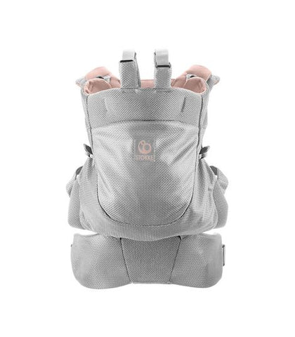 Stokke MyCarrier Front & Back Infant Carrier - Pink Mesh