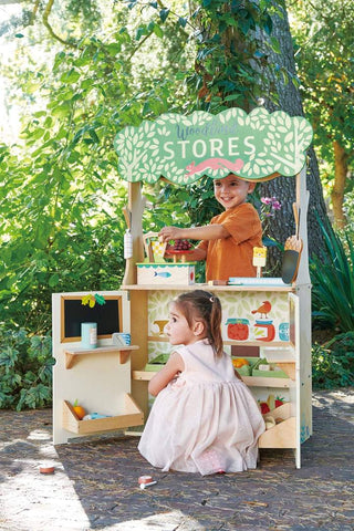 Tender Leaf Toys Woodland Stores and Theater