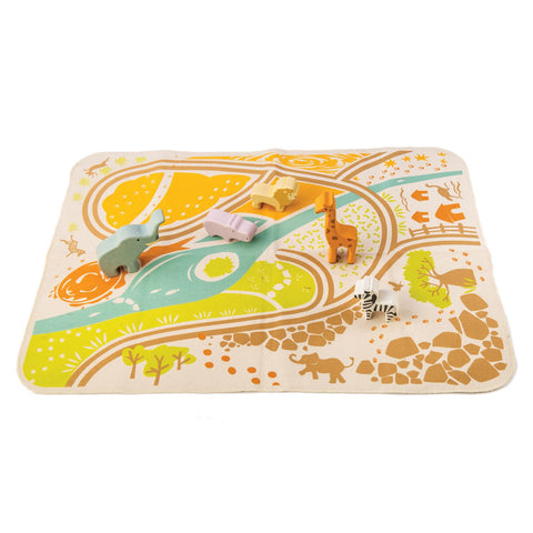 Tender Leaf Toys Safari Playmat