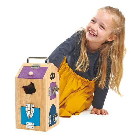 Tender Leaf Toys Monster Lock Box