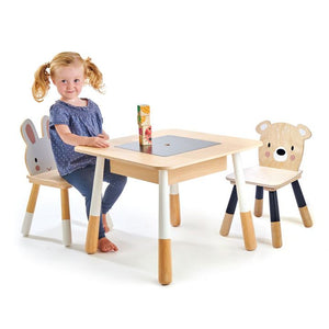 Tender Leaf Forest Table and Chairs - Traveling Tikes