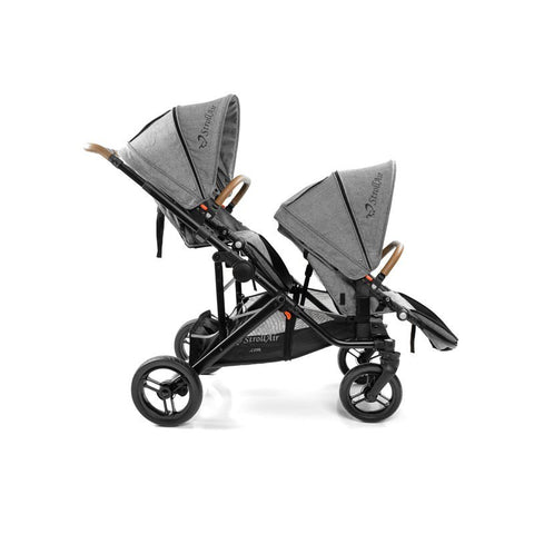 StrollAir SOLO with TANGO Second Seat - Denim Slate