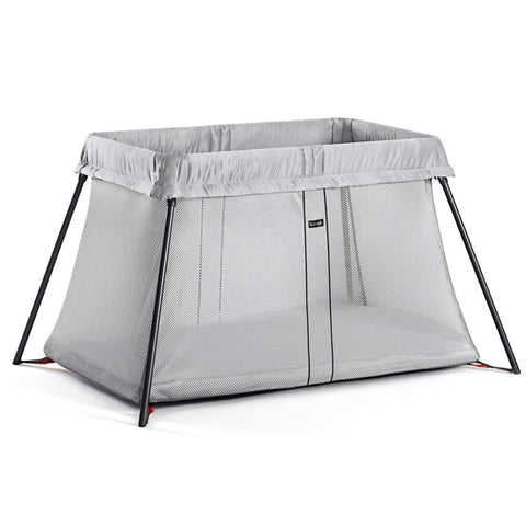 Baby Bjorn Travel Crib Light - Silver - Traveling Tikes