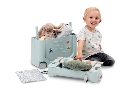 JetKids Bed Box V3 by Stokke - Green Aurora