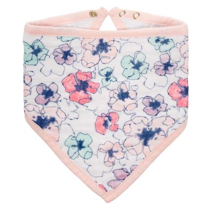 Aden and Anais Classic Bandana Trail Blooms