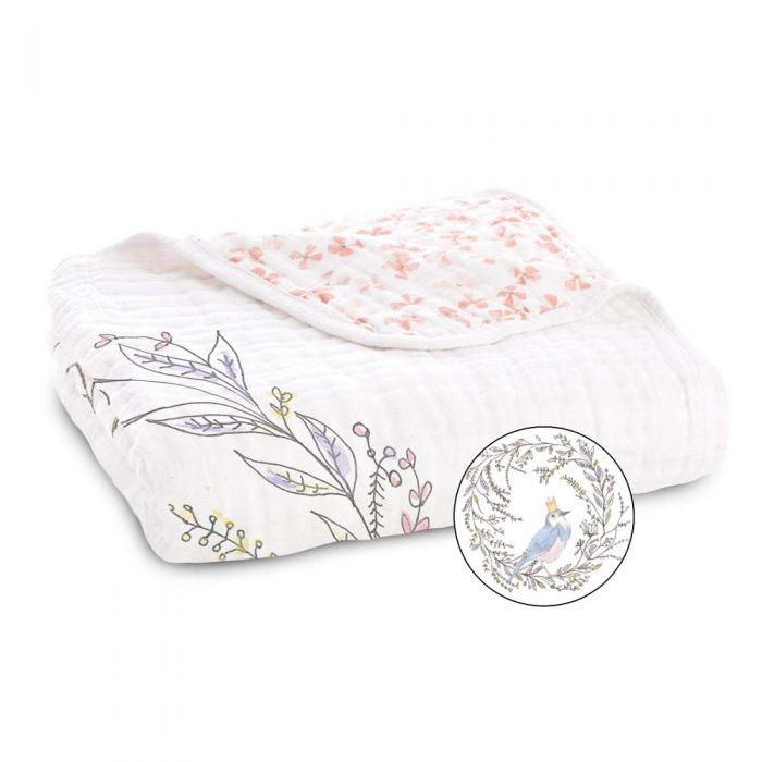 Aden and Anais Classic Dream Blanket - Bird Song