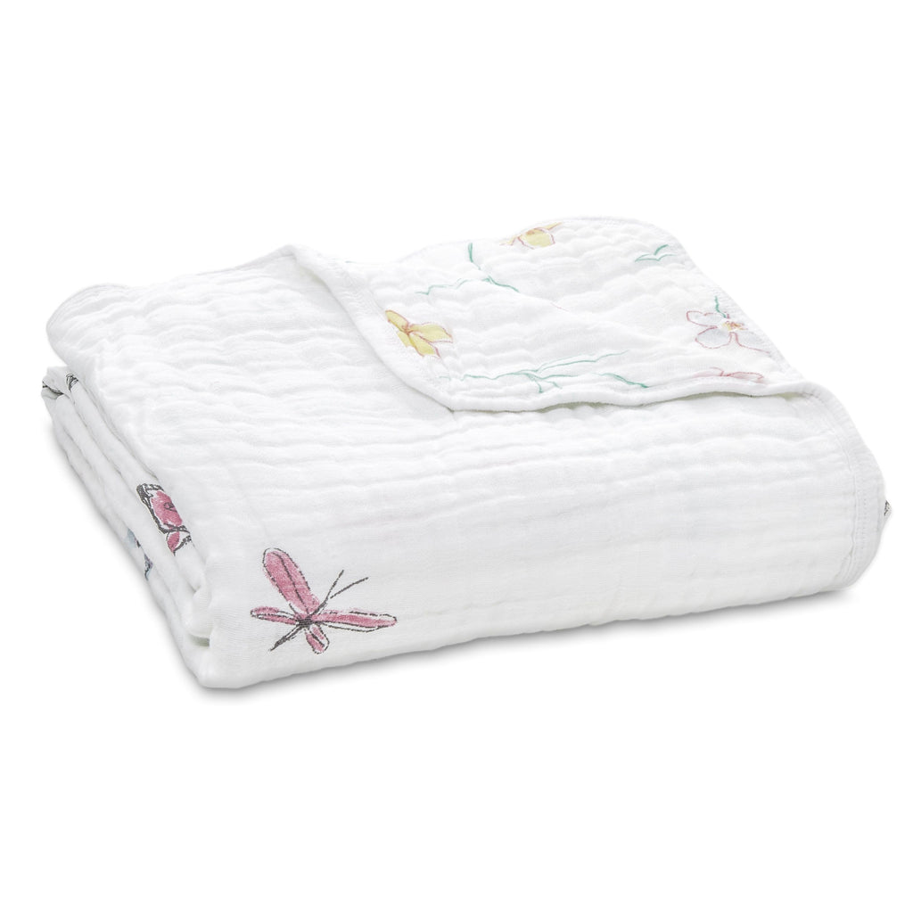 Aden and Anais Classic Dream Blanket - Forest Fantasy - Traveling Tikes