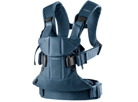 Baby Bjorn 2019 Baby Carrier One - Classic Denim/Midnight Blue Cotton Mix