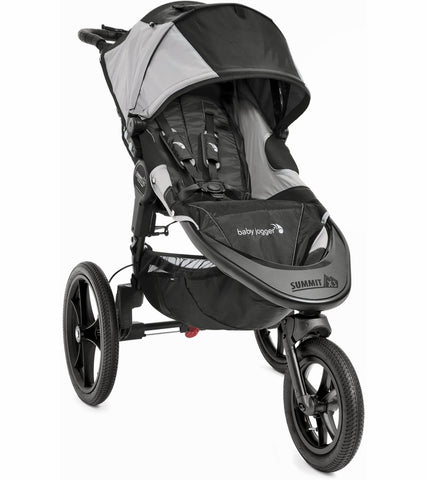 Baby Jogger Summit X3 Jogging Stroller - Black / Gray