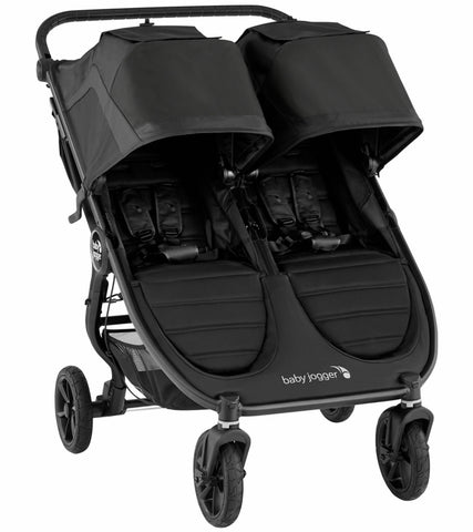 Baby Jogger 2020 City Mini Double GT Stroller-Black/Black