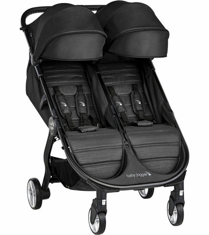 Baby Jogger 2019 City Tour 2 Double Stroller - Jet - Traveling Tikes