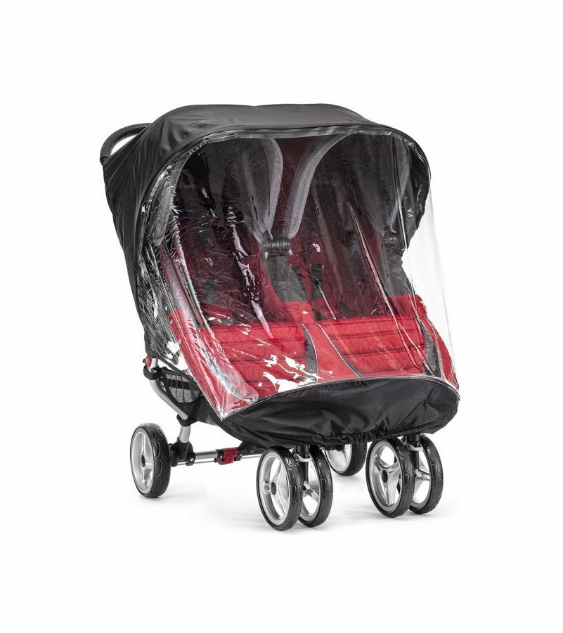 Baby Jogger Rain Canopy - City Mini/Mini GT Double - Traveling Tikes