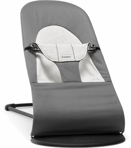 Baby Bjorn Bouncer Balance Soft, Cotton - Dark Grey