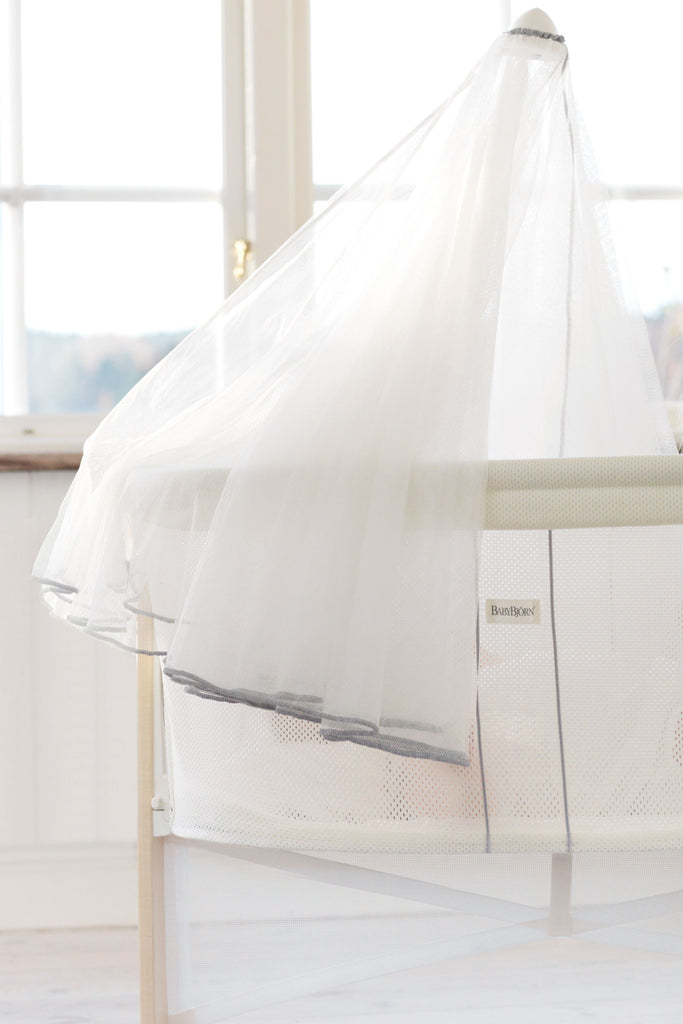 Baby Bjorn Canopy for Cradle - White - Traveling Tikes