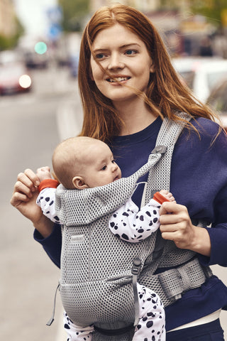 Baby Bjorn Baby Carrier Free 3D Mesh - Gray