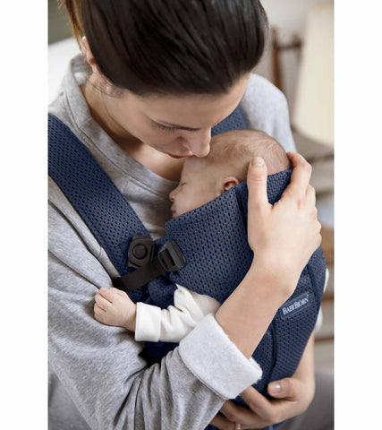 Baby Bjorn Baby Carrier Mini 3D Mesh- Navy Blue