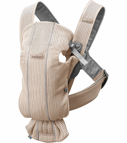 Baby Bjorn Baby Carrier Mini 3D Mesh- Pearly Pink - Traveling Tikes