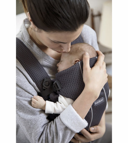Baby Bjorn Baby Carrier Mini 3D Mesh- Anthracite