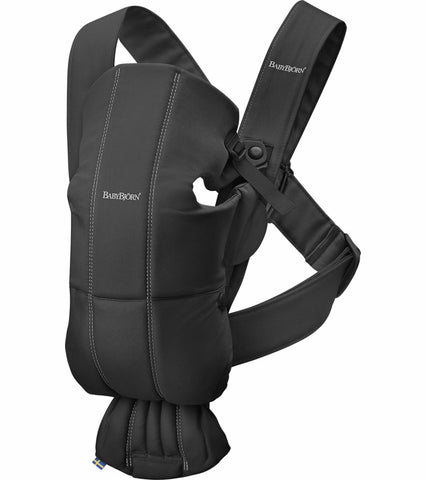 Baby Bjorn Baby Carrier Mini Cotton - Black