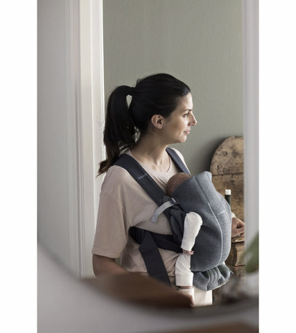 Baby Bjorn Baby Carrier Mini 3D Jersey- Dark Grey