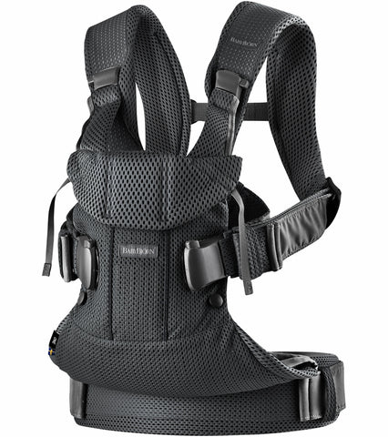 Baby Bjorn Baby Carrier One Air, 3D Mesh - Black