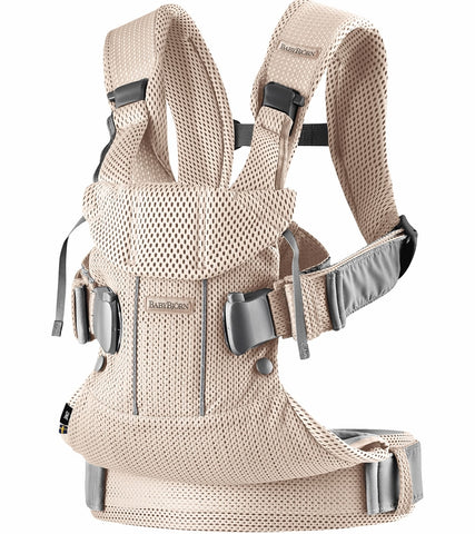 Baby Bjorn Baby Carrier One Air, 3D Mesh - Pearly Pink