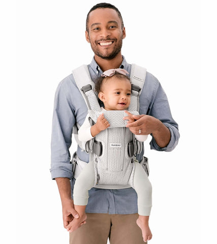 Baby Bjorn Baby Carrier One Air, 3D Mesh - Black - Traveling Tikes