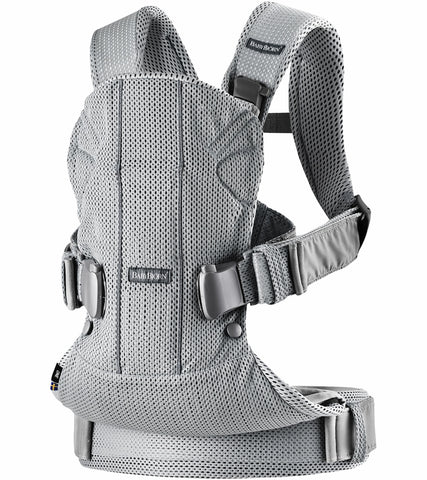 Baby Bjorn Baby Carrier One Air, 3D Mesh - Silver