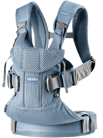 Baby Bjorn Baby Carrier One Air, 3D Mesh - Slate Blue