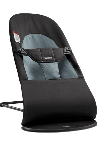 Baby Bjorn Bouncer Balance Soft -Black/Dark Gray Cotton