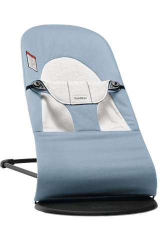 Baby Bjorn Bouncer Balance Soft - Blue/Grey Cotton/Jersey