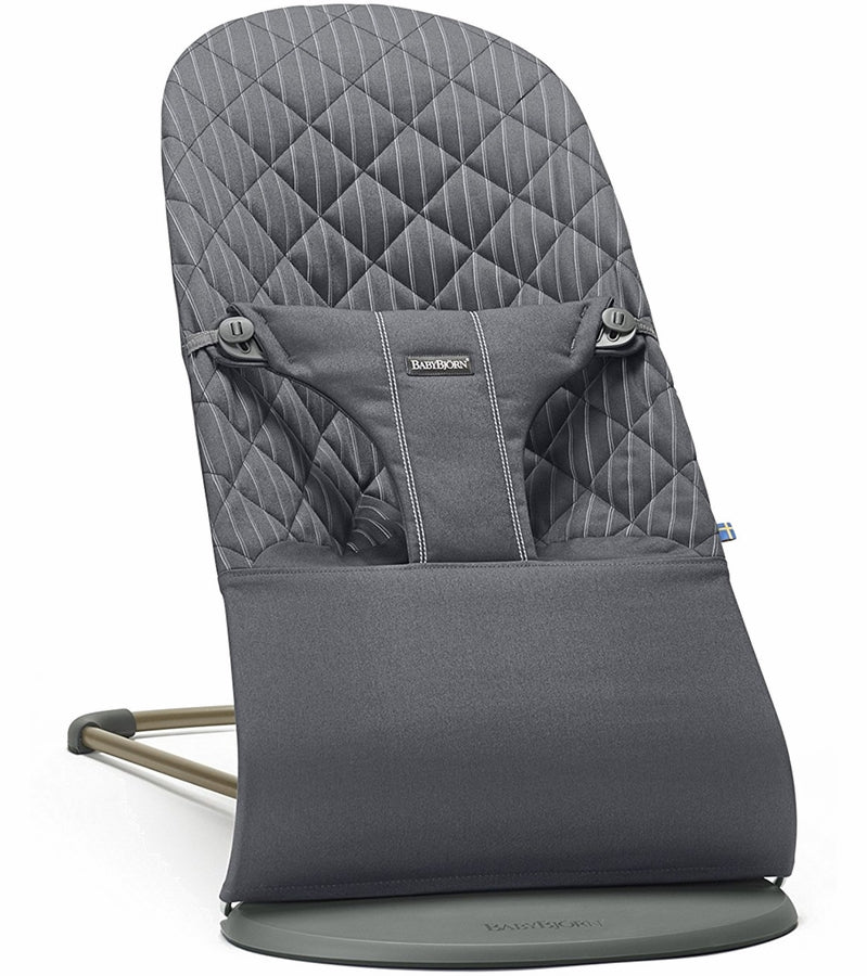 Baby Bjorn Bouncer Bliss - Anthracite, Cotton - Traveling Tikes