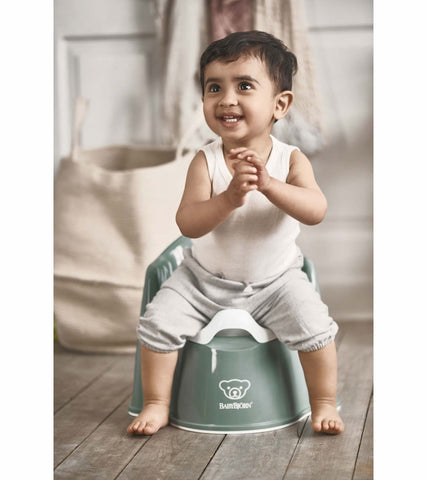 Baby Bjorn Potty Chair - Deep Green