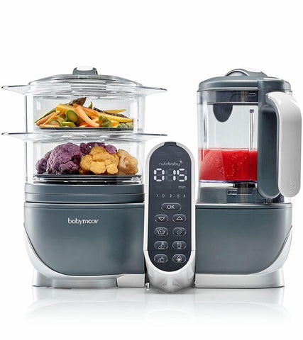 Babymoov Duo Meal Station 6-in-1 Food Processor - Traveling Tikes