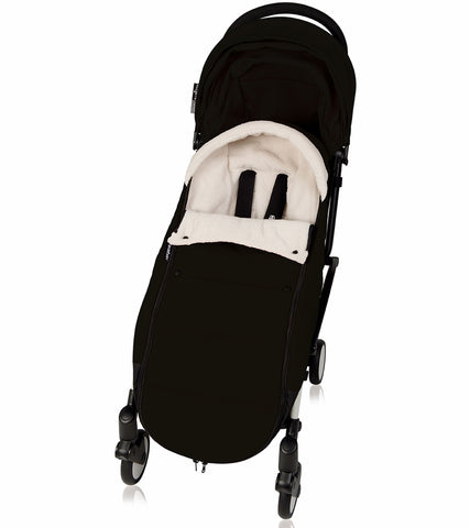 Babyzen Polar Footmuff - Black - Traveling Tikes