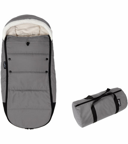 Babyzen Polar Footmuff - Grey - Traveling Tikes