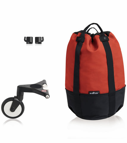 BABYZEN YOYO + Rolling Bag - Red