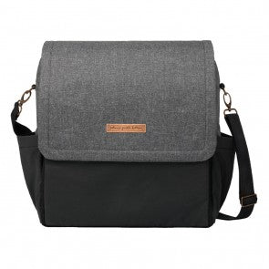 Petunia Pickle Bottom Boxy Backpack in GraphiteBlack