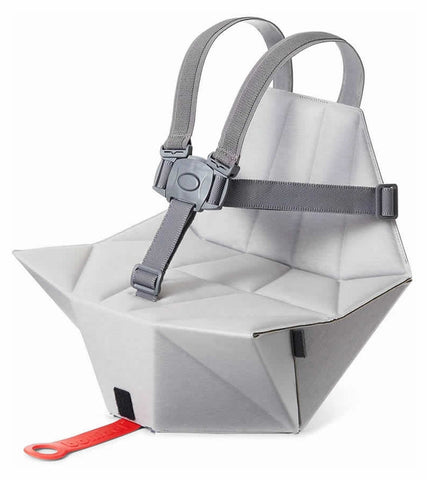 Bombol Pop-Up Booster & Carry Bag/Seat Cover - Pebble Grey