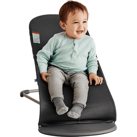 Baby Bjorn Bouncer Bliss - Black, Cotton - Traveling Tikes