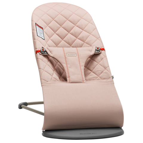 Baby Bjorn Bouncer Bliss - Old Rose, Cotton - Traveling Tikes