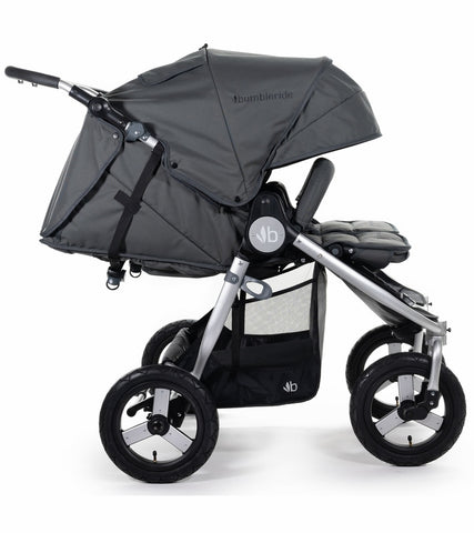 Bumbleride 2020 Indie Twin Stroller - Dawn Grey