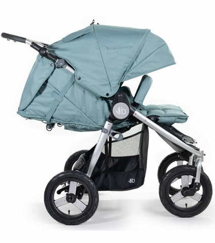Bumbleride 2020 Indie Twin Stroller - Sea Glass