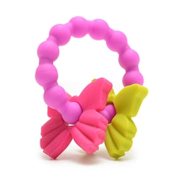 Chewbeads Baby 100% Silicone Central Park Teether - Butterfly