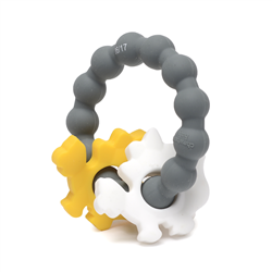 Chewbeads Baby 100% Silicone Central Park Teether - Dinosaur